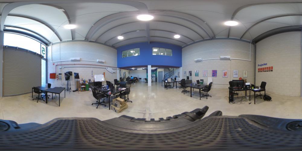 Vista 360 del estudio